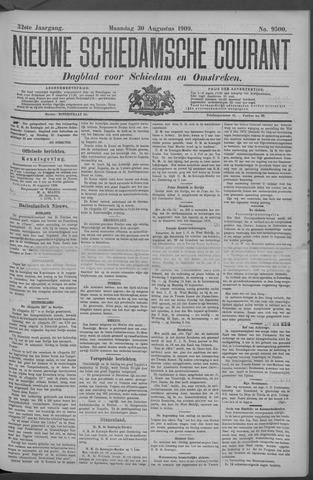 Nieuwe Schiedamsche Courant 1909-08-30