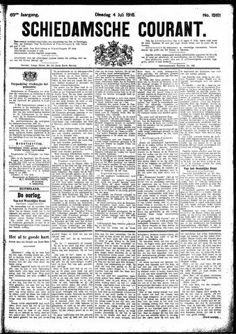 Schiedamsche Courant 1916-07-04