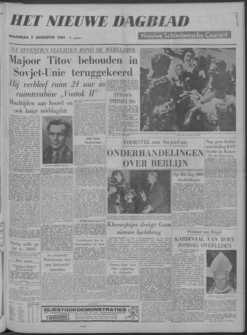 Nieuwe Schiedamsche Courant 1961-08-07