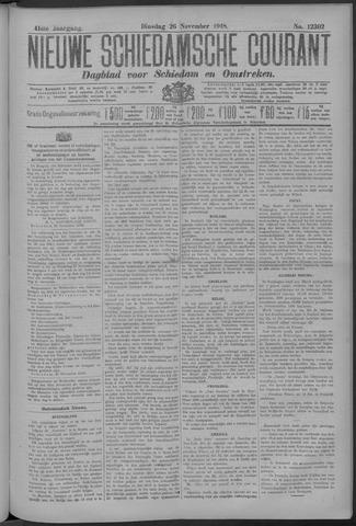 Nieuwe Schiedamsche Courant 1918-11-26