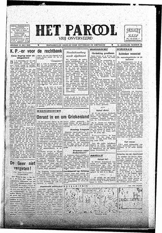 Rotterdamsch Parool / De Schiedammer 1945-07-13