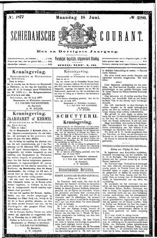 Schiedamsche Courant 1877-06-18