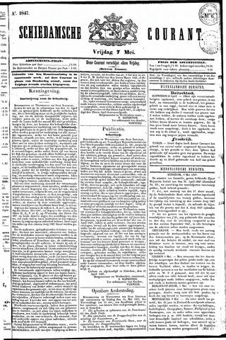 Schiedamsche Courant 1847-05-07