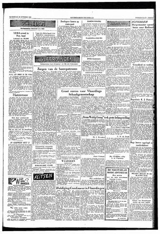 Rotterdamsch Nieuwsblad / Schiedamsche Courant / Rotterdams Dagblad / Waterweg / Algemeen Dagblad 1953-10-28