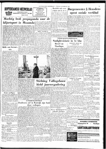 Rotterdamsch Nieuwsblad / Schiedamsche Courant / Rotterdams Dagblad / Waterweg / Algemeen Dagblad 1964-02-14