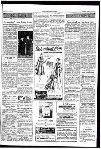 Rotterdamsch Nieuwsblad / Schiedamsche Courant / Rotterdams Dagblad / Waterweg / Algemeen Dagblad 1953-06-12