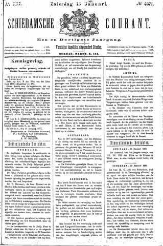 Schiedamsche Courant 1877-01-13