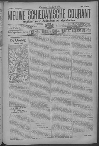 Nieuwe Schiedamsche Courant 1918-04-24
