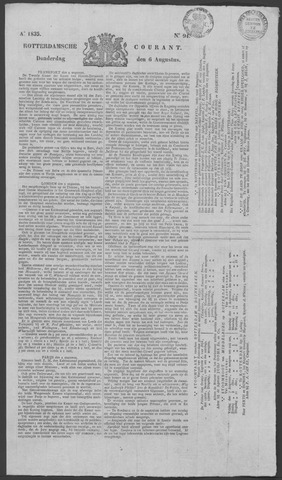 Rotterdamse Courant 1835-08-06