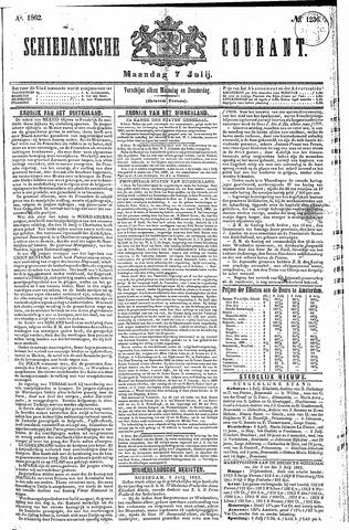 Schiedamsche Courant 1862-07-07