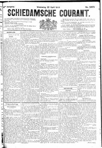 Schiedamsche Courant 1908-04-22