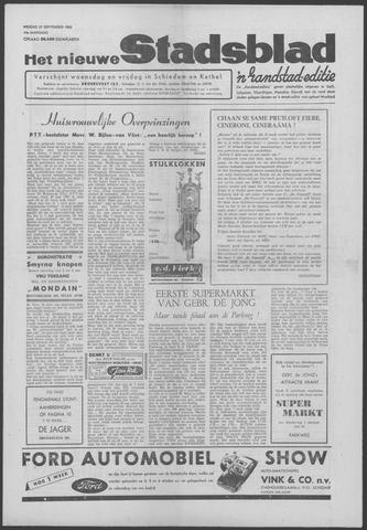 Het Nieuwe Stadsblad 1963-09-27