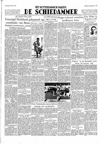 Rotterdamsch Parool / De Schiedammer 1949-05-30