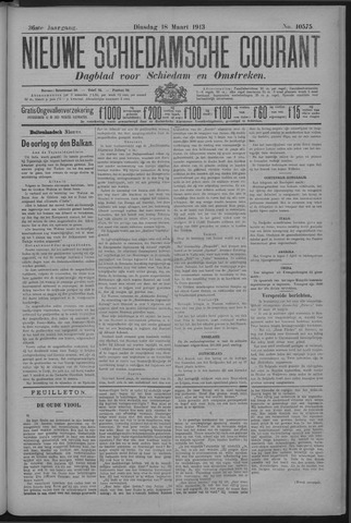 Nieuwe Schiedamsche Courant 1913-03-18