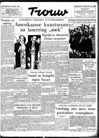 Trouw / De Rotterdammer 1958-03-06