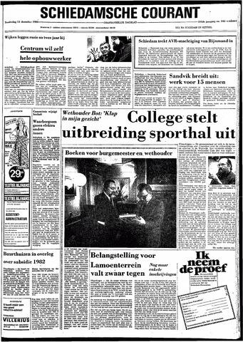 Rotterdamsch Nieuwsblad / Schiedamsche Courant / Rotterdams Dagblad / Waterweg / Algemeen Dagblad 1980-12-11