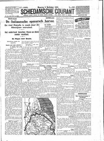 Schiedamsche Courant 1935-11-04