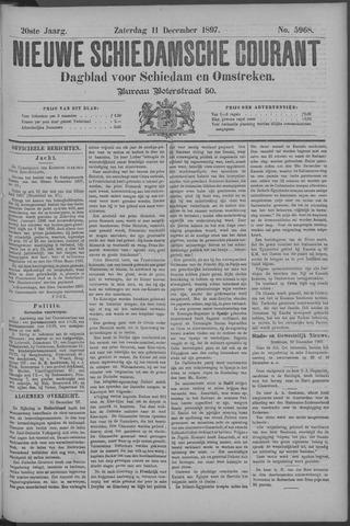 Nieuwe Schiedamsche Courant 1897-12-11