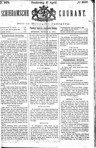 Schiedamsche Courant 1879-04-17