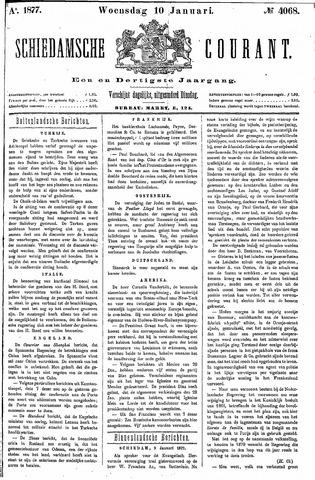 Schiedamsche Courant 1877-01-10