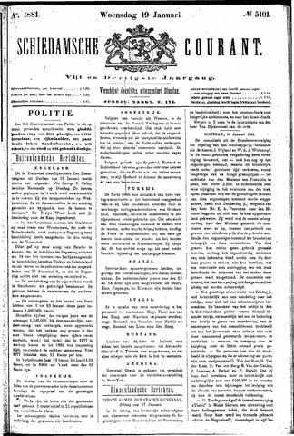 Schiedamsche Courant 1881-01-19