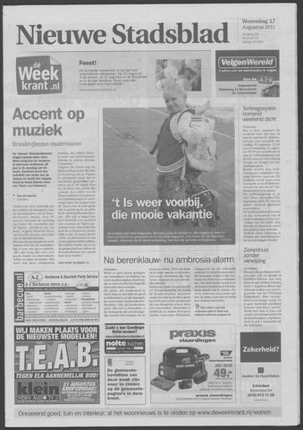 Het Nieuwe Stadsblad 2011-08-17