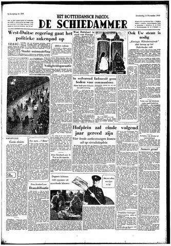 Rotterdamsch Parool / De Schiedammer 1949-11-10