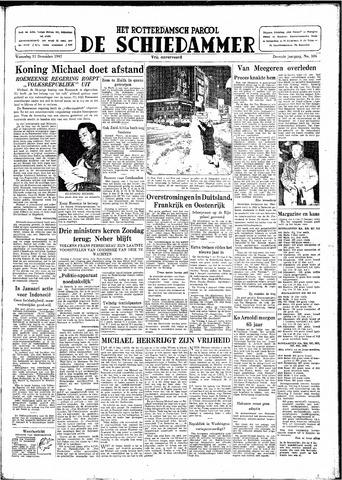 Rotterdamsch Parool / De Schiedammer 1947-12-31
