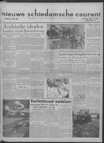Nieuwe Schiedamsche Courant 1958-07-22