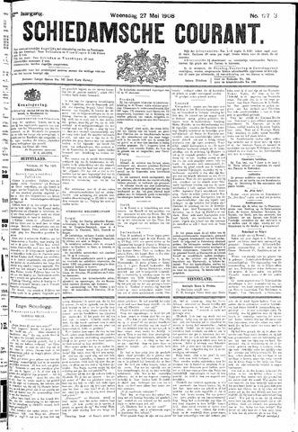 Schiedamsche Courant 1908-05-27