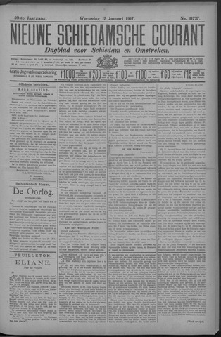 Nieuwe Schiedamsche Courant 1917-01-17