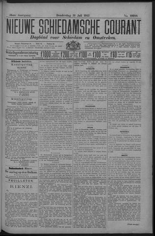 Nieuwe Schiedamsche Courant 1913-07-31