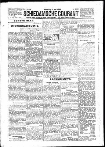 Schiedamsche Courant 1933-06-01