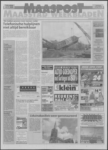 Maaspost / Maasstad / Maasstad Pers 1999-08-18