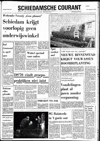 Rotterdamsch Nieuwsblad / Schiedamsche Courant / Rotterdams Dagblad / Waterweg / Algemeen Dagblad 1974-03-16