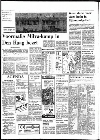 Rotterdamsch Parool / De Schiedammer 1970-08-03