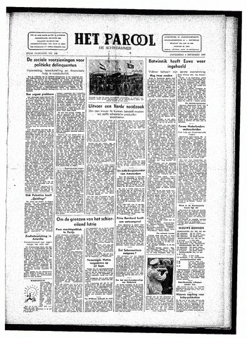 Rotterdamsch Parool / De Schiedammer 1946-09-05
