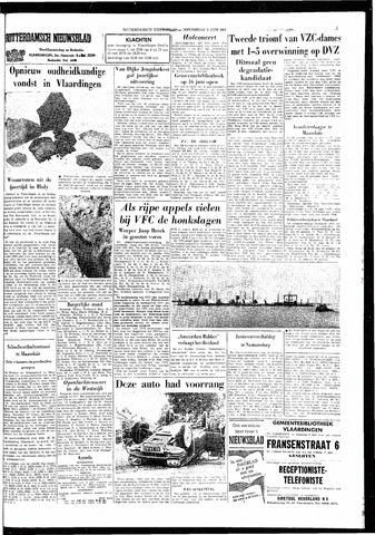 Rotterdamsch Nieuwsblad / Schiedamsche Courant / Rotterdams Dagblad / Waterweg / Algemeen Dagblad 1966-06-02