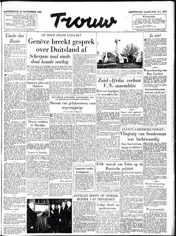 Trouw / De Rotterdammer 1955-11-10