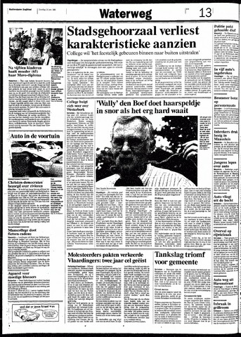 Rotterdamsch Nieuwsblad / Schiedamsche Courant / Rotterdams Dagblad / Waterweg / Algemeen Dagblad 1991-06-18