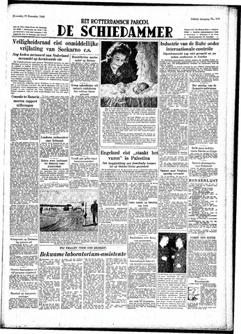 Rotterdamsch Parool / De Schiedammer 1948-12-29
