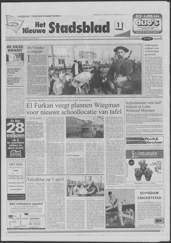 Het Nieuwe Stadsblad 2001-04-04