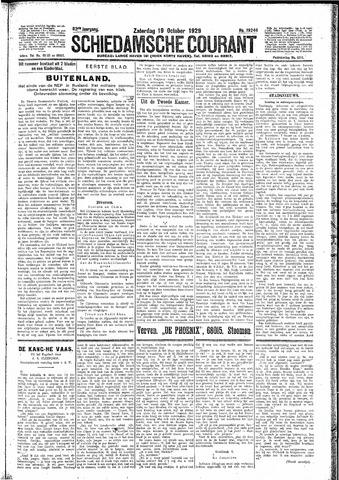 Schiedamsche Courant 1929-10-19