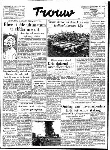Trouw / De Rotterdammer 1955-08-15