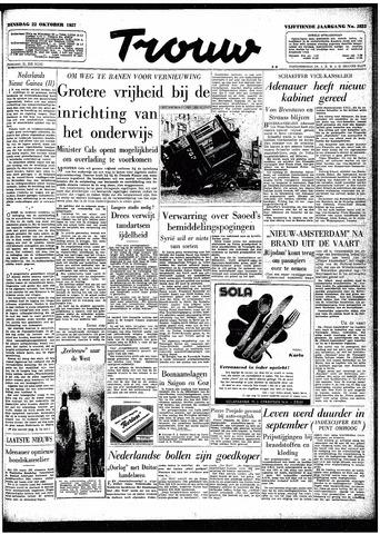 Trouw / De Rotterdammer 1957-10-22
