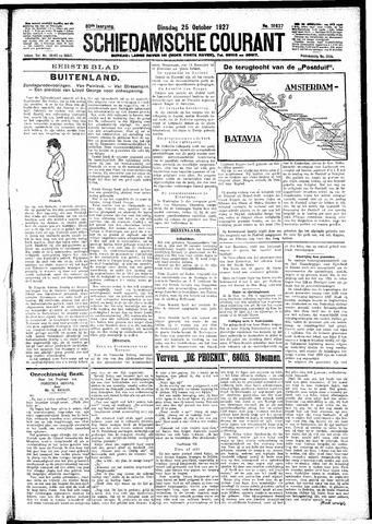 Schiedamsche Courant 1927-10-25