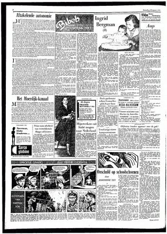 Rotterdamsch Parool / De Schiedammer 1957-03-23