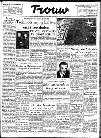 Trouw / De Rotterdammer 1956-11-21