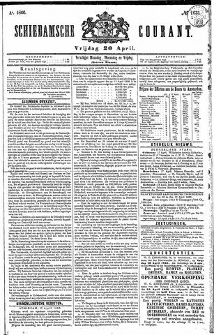 Schiedamsche Courant 1866-04-20