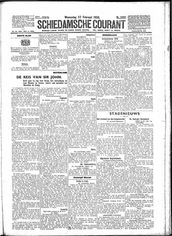 Schiedamsche Courant 1935-02-27